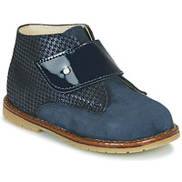 Chaussures Fille Baskets montantes Little Mary JANYCE Bleu