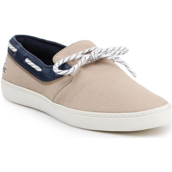 Chaussures Homme Baskets basses Lacoste Buty lifestylowe  Gazon Deck 7-31CAM0005LR3 beżowy