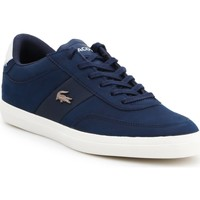 Chaussures Femme Baskets basses Producent Niezdefiniowany Lacoste 7-37CMA0013J18 granatowy