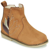 Chaussures Fille Boots Little Mary KARRY Marron