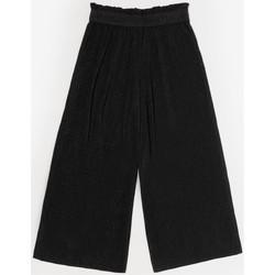 Vêtements Fille Pantalons Little Cerise Pantalon saragi noir BLACK