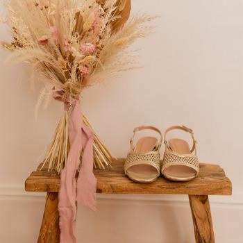 Chaussures Femme Sandales et Nu-pieds Céleste CANNELLE Doré