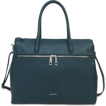 Sacs Femme Cabas / Sacs shopping Gigi Fratelli 15 pouces Romance Business ROM8006 Tealblauw Bleu