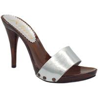 Chaussures Femme Sabots Kiara Shoes KM7202 Argent