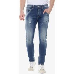 Vêtements Homme Jeans slim Japan Rags Jeans 900/16 tapered 7/8ème taniel destroy bleu n°3 BLUE