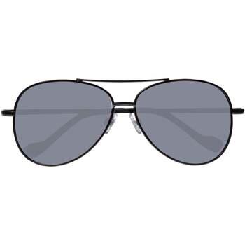 Montres & Bijoux Lunettes de soleil Isotoner Lunettes de soleil pilote Noir