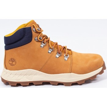 Chaussures Homme Boots Timberland Brooklyn mid hiker Camel
