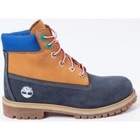 Chaussures Garçon Boots Timberland Premium 6 in waterproof boot Bleu