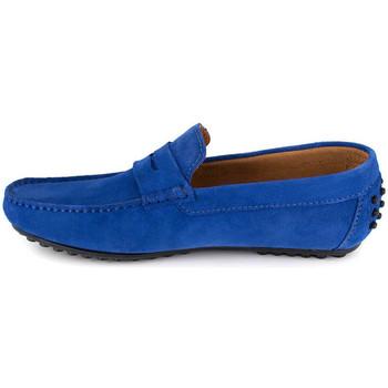 Chaussures Homme Mocassins J.bradford JB-AITOR BLEU Bleu
