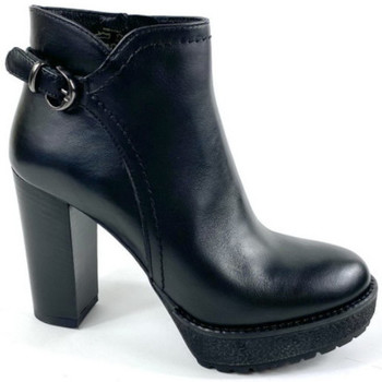 Chaussures Femme Low boots Elena 89301 nero