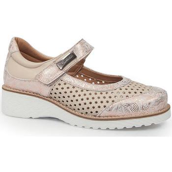Chaussures Femme Ballerines / babies Calzamedi LETINAS  0690 BEIGE