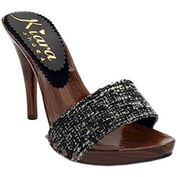 Chaussures Femme Sabots Kiara Shoes KM7203 Noir