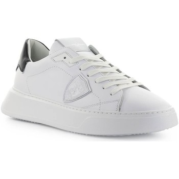 Chaussures Homme Baskets basses Philippe Model Temple White