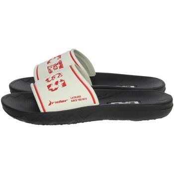 Chaussures Enfant Claquettes Rider 82738 Blanc/Rouge