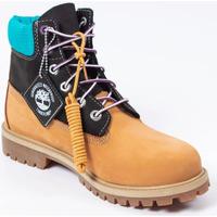 Chaussures Garçon Boots Timberland Premium 6 in waterproof boot Camel