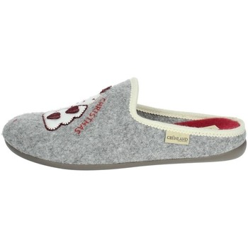 Chaussures Femme Chaussons Grunland - Pantofola grigio CI2938 GRIGIO