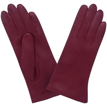 Accessoires textile Gants Glove Story Gants cuir  ref_23653 649 Rouge Noir