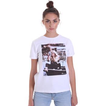 Vêtements Femme T-shirts manches courtes Fracomina F120W03006J00139 Blanc