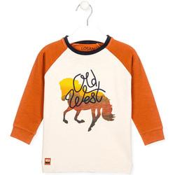 Vêtements Enfant T-shirts & Polos Losan 025-1018AL Blanc