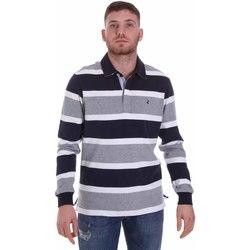 Vêtements Homme Polos manches longues Navigare NV30026 Bleu