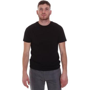 Vêtements Homme T-shirts manches courtes Sseinse MI1692SS Noir