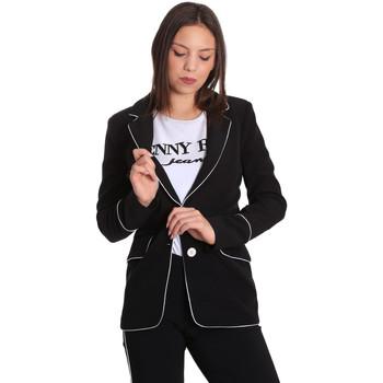 Vêtements Femme Vestes / Blazers Denny Rose 811DD30004 Noir