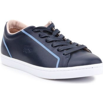 Chaussures Femme Baskets basses Lacoste Straightset Graphite