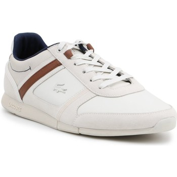 Chaussures Homme Baskets basses Lacoste Menerva Blanc, Beige