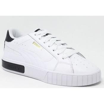 Chaussures Baskets basses Puma CALI STAR BLANC/NOIR Blanc