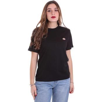 Vêtements Femme T-shirts manches courtes Dickies DK0A4TMYBLK1 Noir