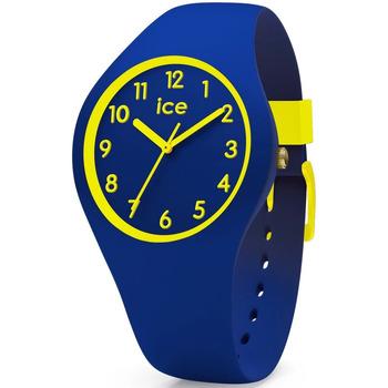 Montres & Bijoux Garçon Montres Analogiques Ice Watch Montre Enfant  en Silicone Bleu Bleu