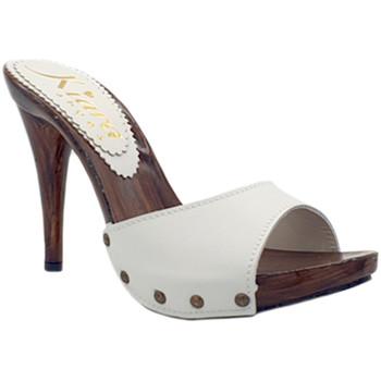 Chaussures Femme Sabots Kiara Shoes KM723001 Blanc
