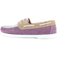 Chaussures Homme Chaussures bateau J.bradford JB-BABORD MAUVE Violet