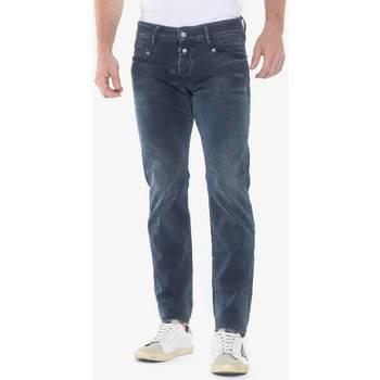 Vêtements Homme Jeans slim Japan Rags Jeans 700/11 slim jaco destroy bleu-noir n°2 BLUE / BLACK