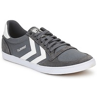 Chaussures Homme Baskets basses Hummel TEN STAR LOW CANVAS Gris / Blanc