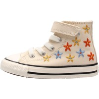 Chaussures Garçon Baskets mode Converse - Ctas 1v hi beige 771137C BEIGE