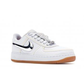 Chaussures Baskets basses Nike Air Force 1 Low Travis Scott White White/White-White