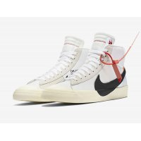 Chaussures Baskets montantes Nike Blazer Mid x Off White OG White Off White