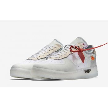 Chaussures Baskets basses Nike Air Force 1 Low x Off-White OG White White/White-Sail