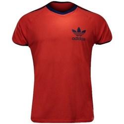 Vêtements Homme T-shirts manches courtes adidas Originals Sport Ess Tee Rouge