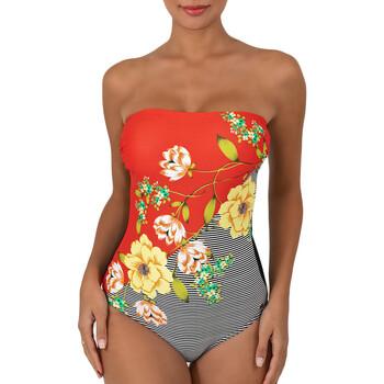 Vêtements Femme Maillots de bain 1 pièce Sun Playa Vip Orange