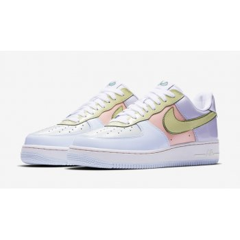 Chaussures Baskets basses Nike Air Force 1 Low Easter Titanium/Lime Ice-Storm Pink