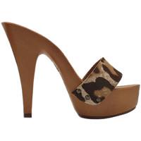 Chaussures Femme Sabots Kiara Shoes K9302 Leopard