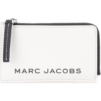 Sacs Portefeuilles Marc Jacobs Porte-cartes The  The Colorblock Small Top Zip Blanc