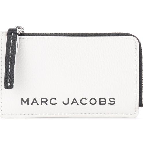 Sacs Portefeuilles Marc Jacobs Porte-cartes The  The Colorblock Small Top Zip Blanc