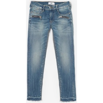 Vêtements Fille Jeans Little Cerise Jeans slim motor bleu n°4 BLUE