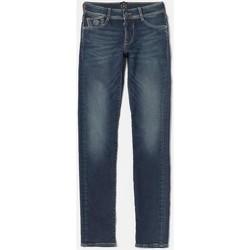 Vêtements Garçon Jeans droit Little Cerise Jeans jogg slim bleu n°2 BLUE