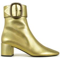 Chaussures Fille Bottes Saint Laurent  Or