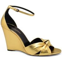 Chaussures Femme Sandales et Nu-pieds Saint Laurent  Or