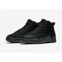 Chaussures Baskets montantes Nike Air Jordan 12 x OVO Black Black/Black-Metallic Gold